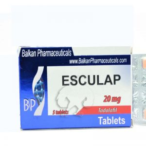 Esculap 20mg 5 tabs